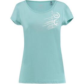 Kaikkialla Tytti Drirelease - T-shirt manches courtes Femme - bleu